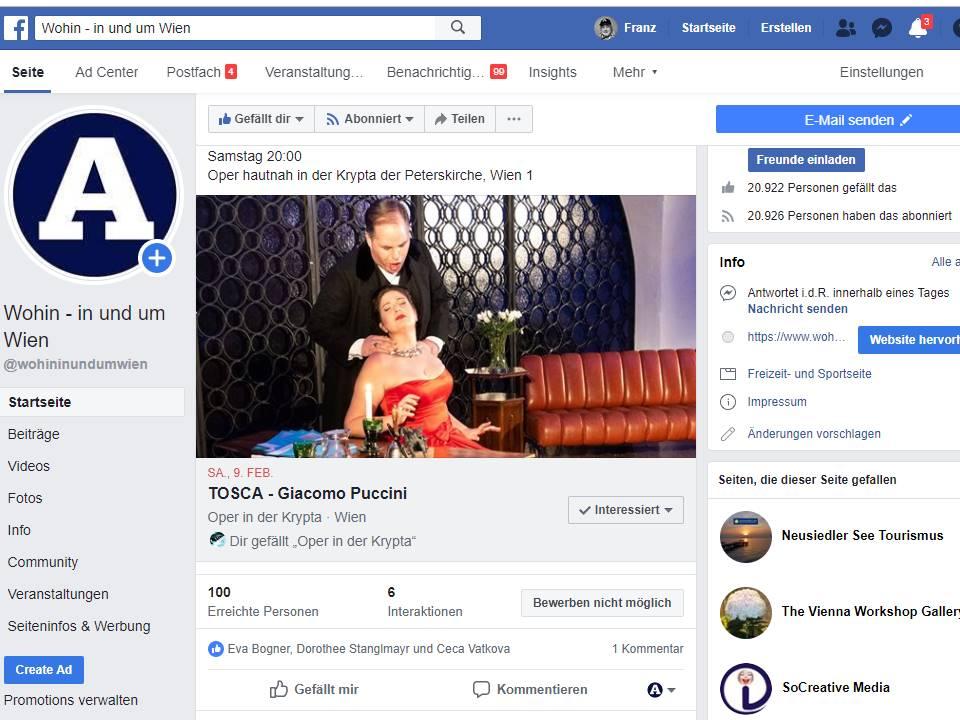 Facebook Krypta