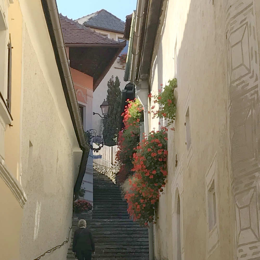Burgstiege Weißenkirchen