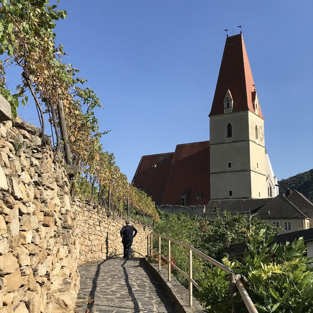 Kirchensteig Weißenkirchen in der Wachau