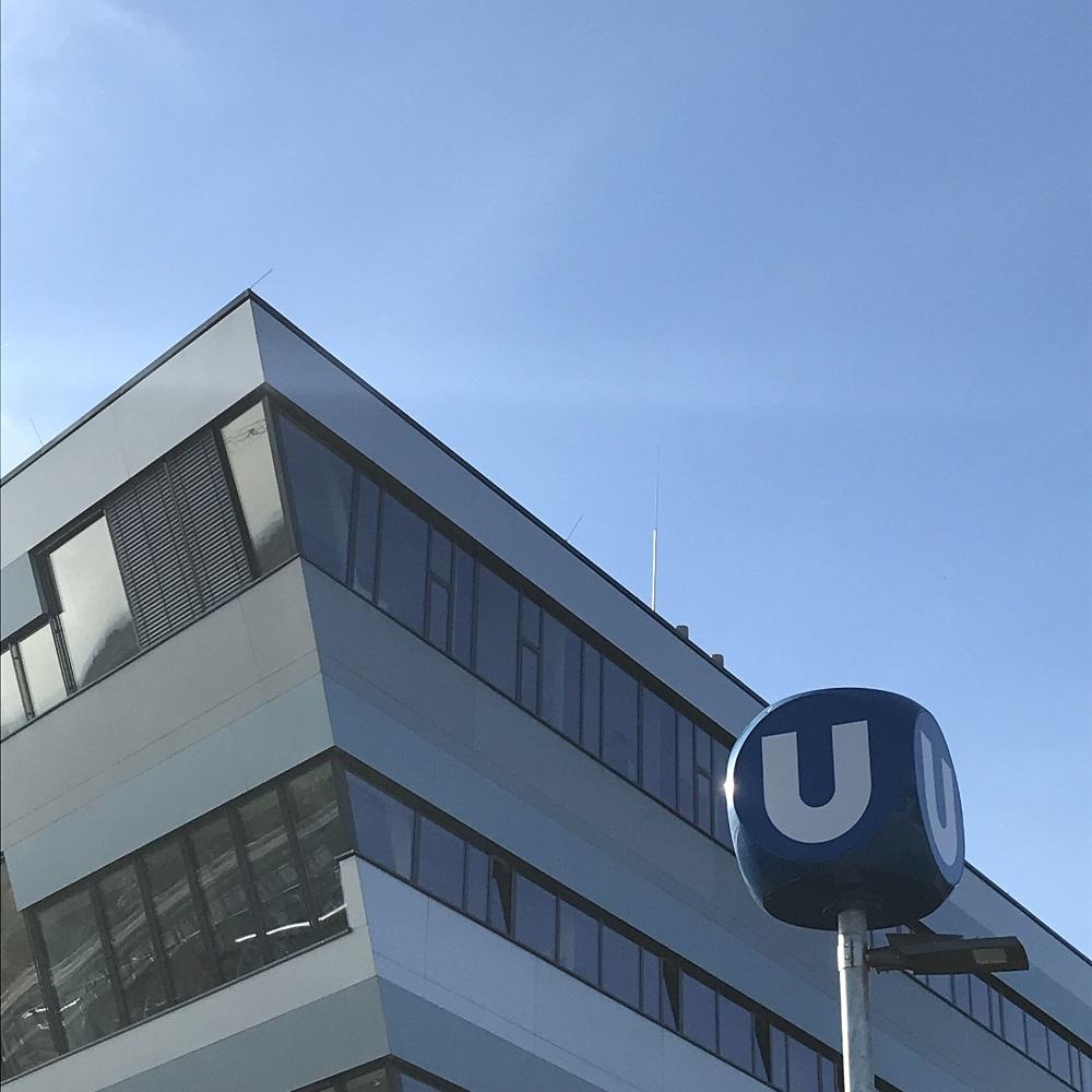 Therme Wien und U 1 Station Oberlaa