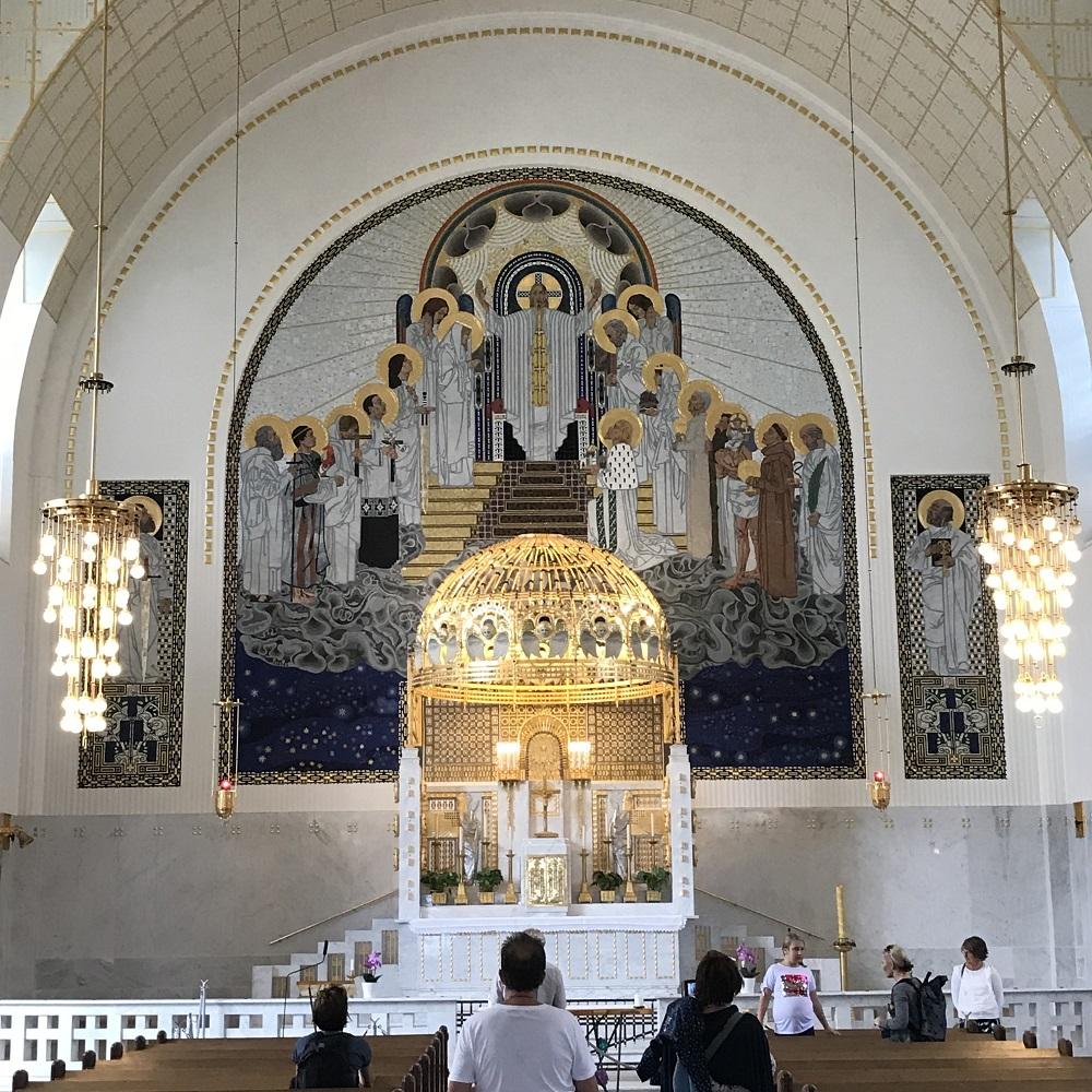Hochaltar Kirche am Steinhof