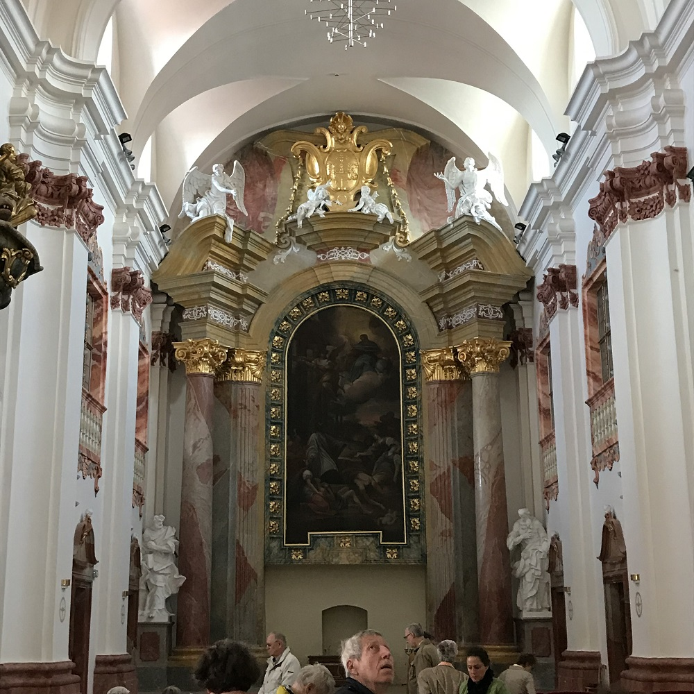 aufgelassene Jesuitenkirche Skalica