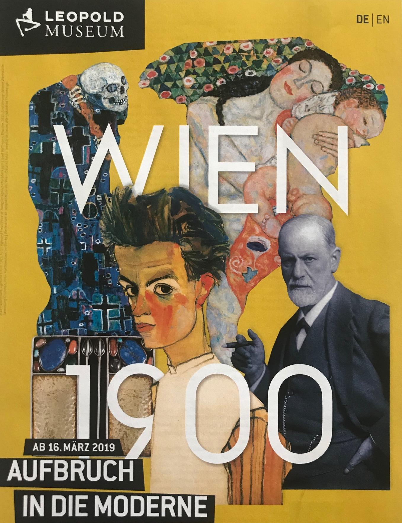 Ausstellungsplakat Wien 1900