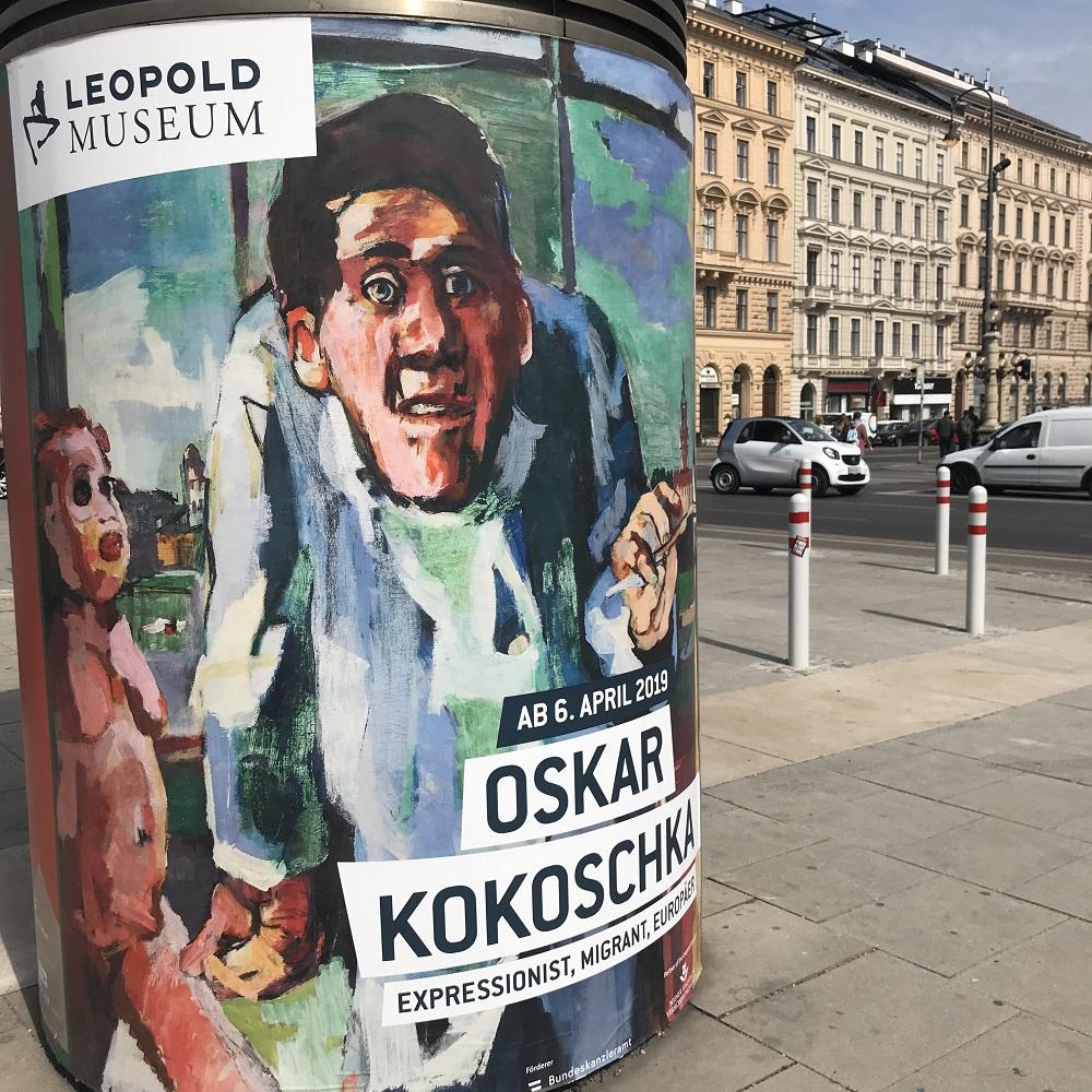 Oskar Kokoschka im Leopold Museum