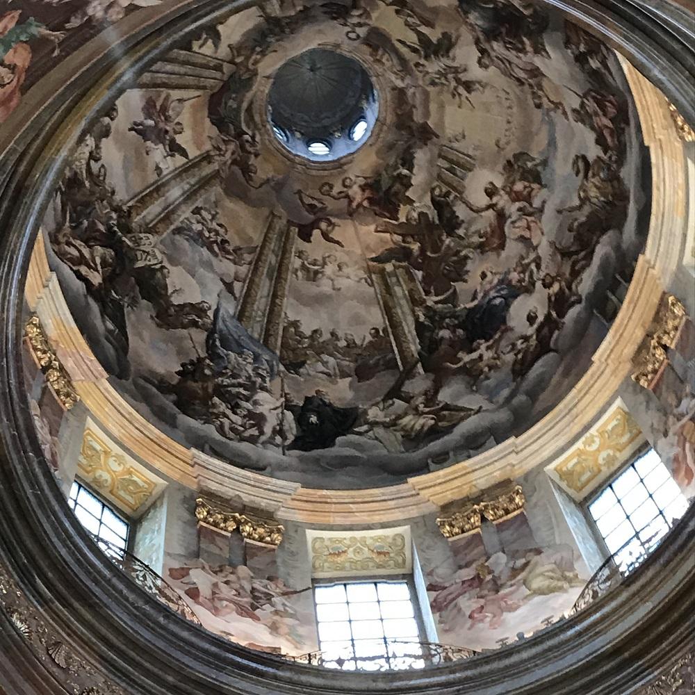 Kuppel der Stiftskirche
