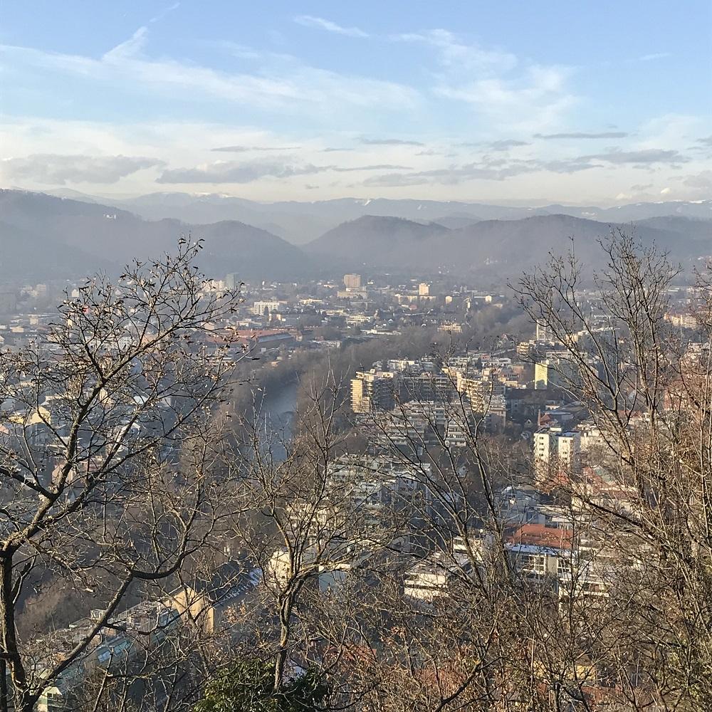 Blick vom Schlossberg nach Norden