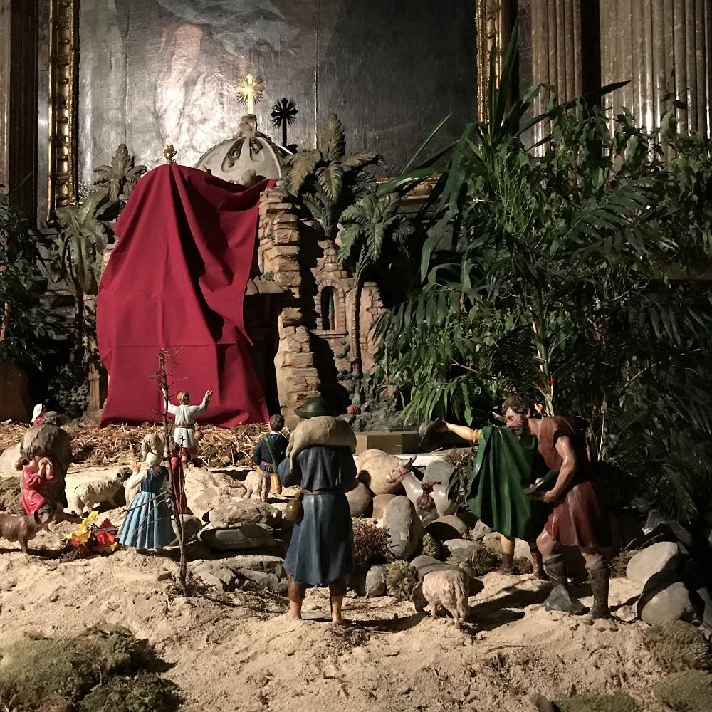 Weihnachtskrippe im Grazer Dom