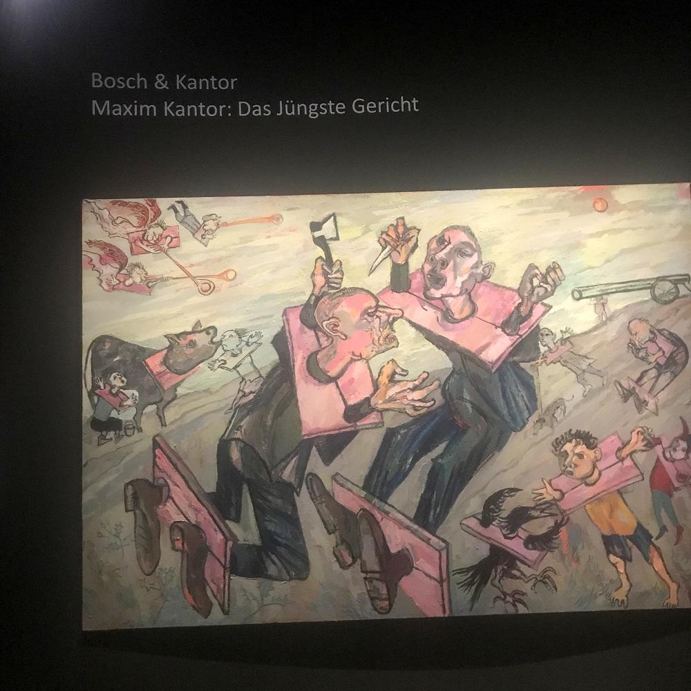Bosch & Kantor in der Akademiegalerie
