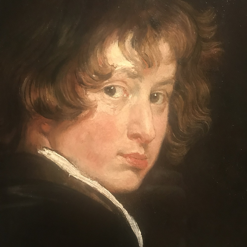 Selbstbildnis Van Dyck in der Akademiegalerie