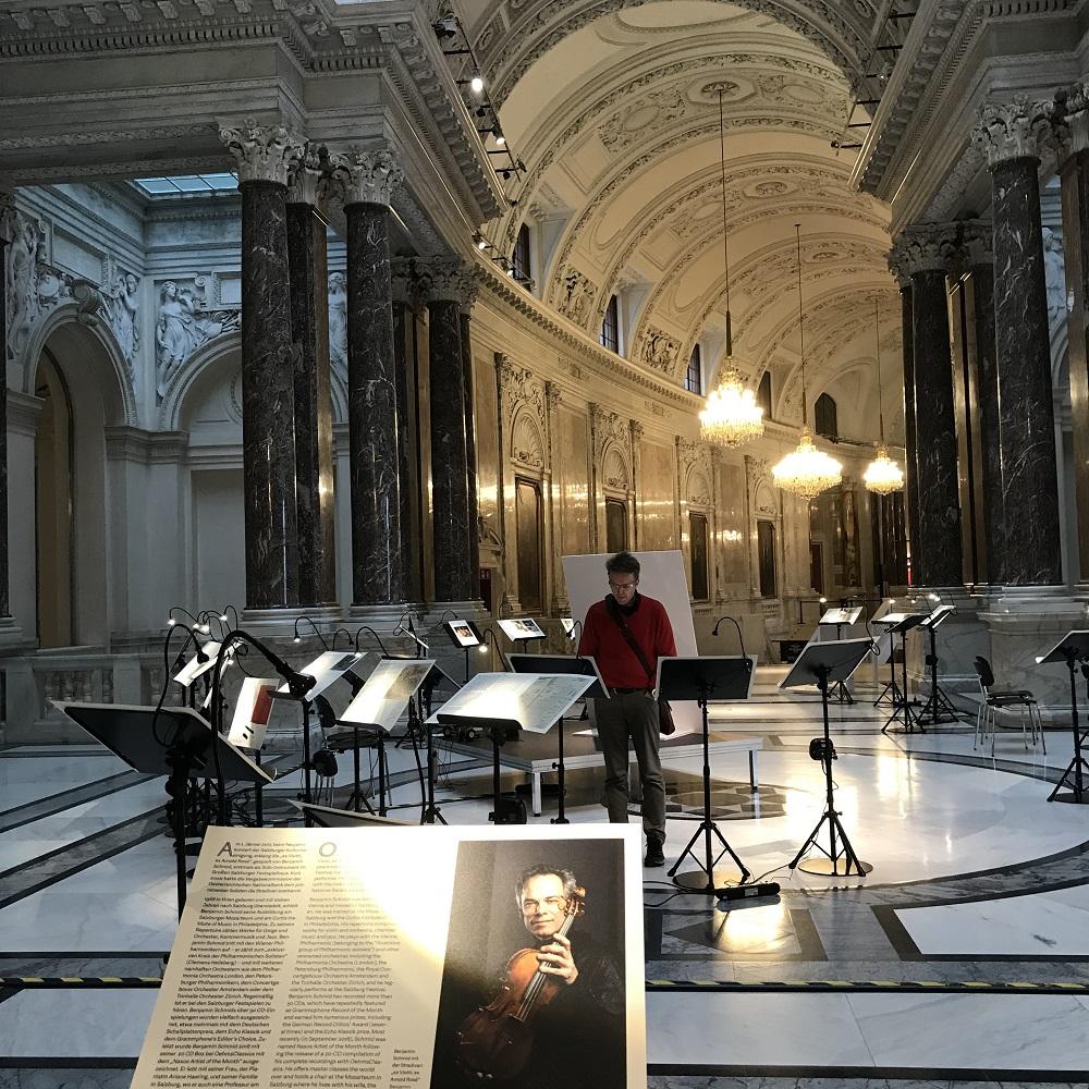 Ausstellungsfläche Alma Rosé - Leiterin des Frauenorchesters im KZ Ausschwitz - Birkenaubenannt