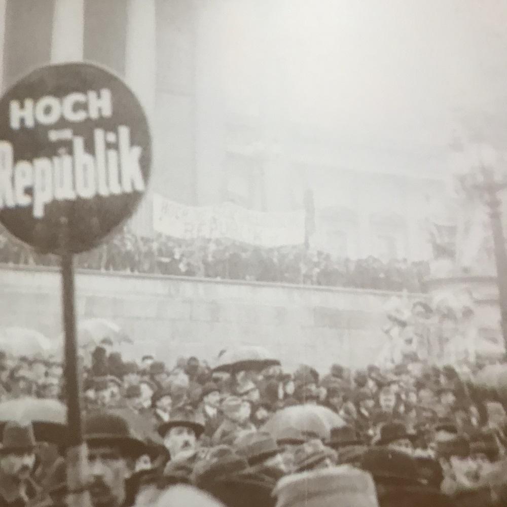 12. November 1918 (c) Haus der Geschichte