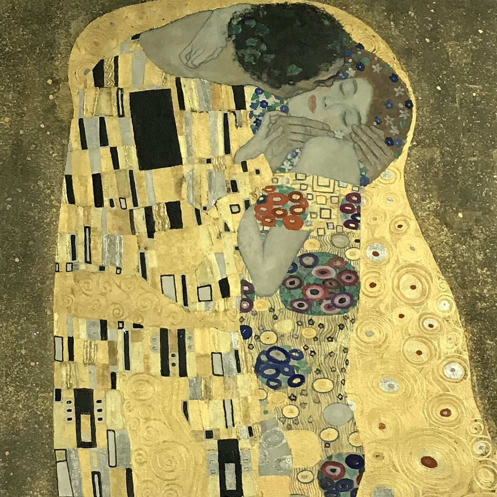 Der Kuss von Klimt