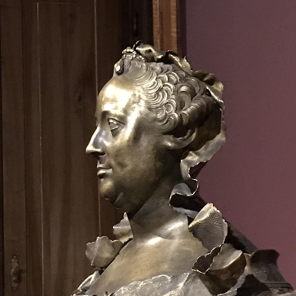 Bronzebüste Maria Theresia