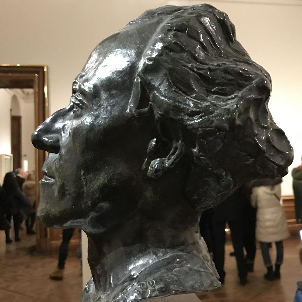 Büste Gustav Mahler von Auguste Rodin