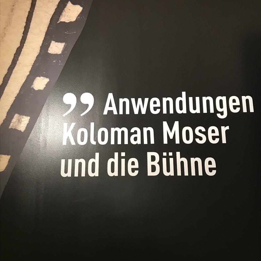Koloman Moser und die Bühne
