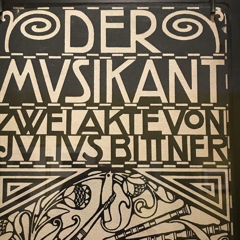 "Plakat ""Der Musikant"""