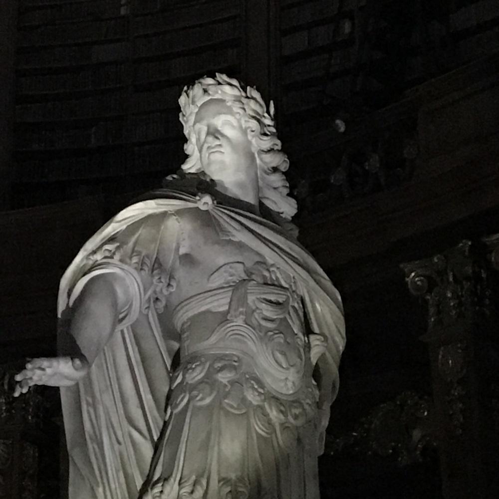 "Kaiser Karl VI. als ""Hercules Musarum"""