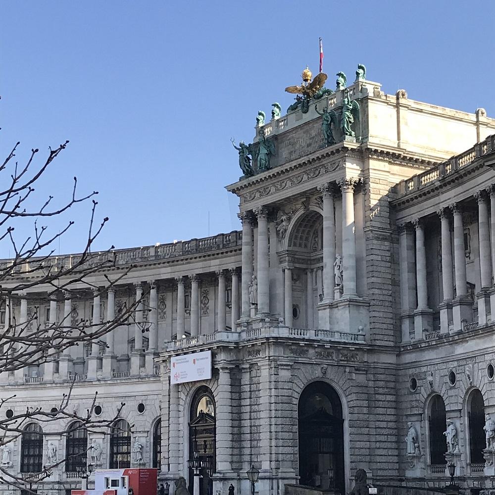 Die Neue Burg am Heldenplatz