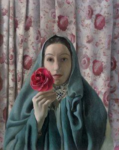 GRETA FREIST, La Femme aux Roses, 1937 © Leopold Privatsammlung Foto: Leopold Museum, Wien/ Manfred Thumberger