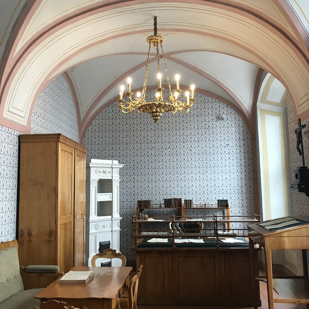 Franz Grillparzers originalgetreu erhaltenes Arbeitszimmer