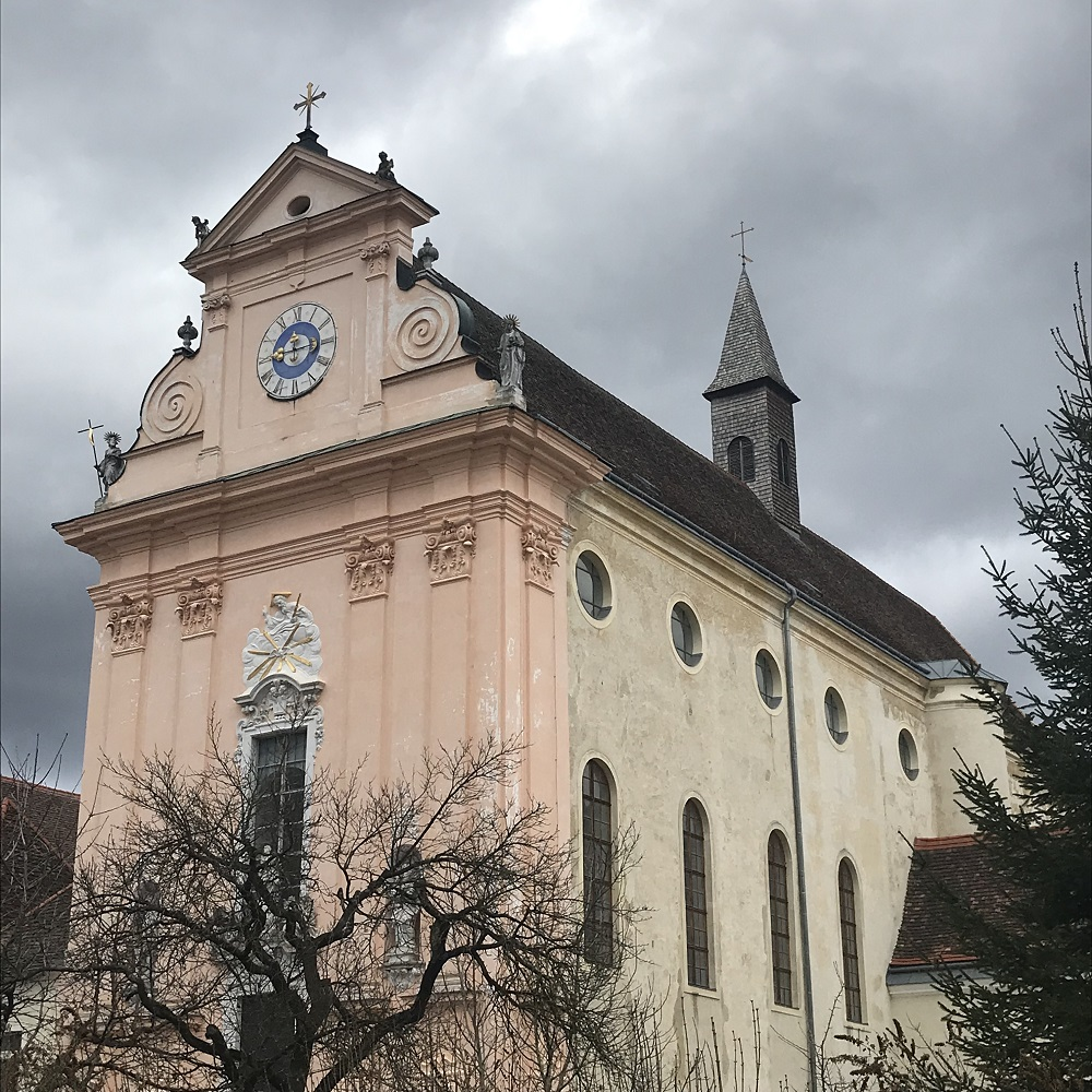 De ehemalige Klosterkirche