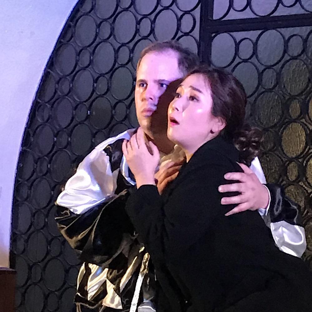Rigoletto und Gilda