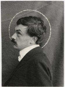 Anonym, Porträtfotografie Koloman Moser, um 1903 © MAK