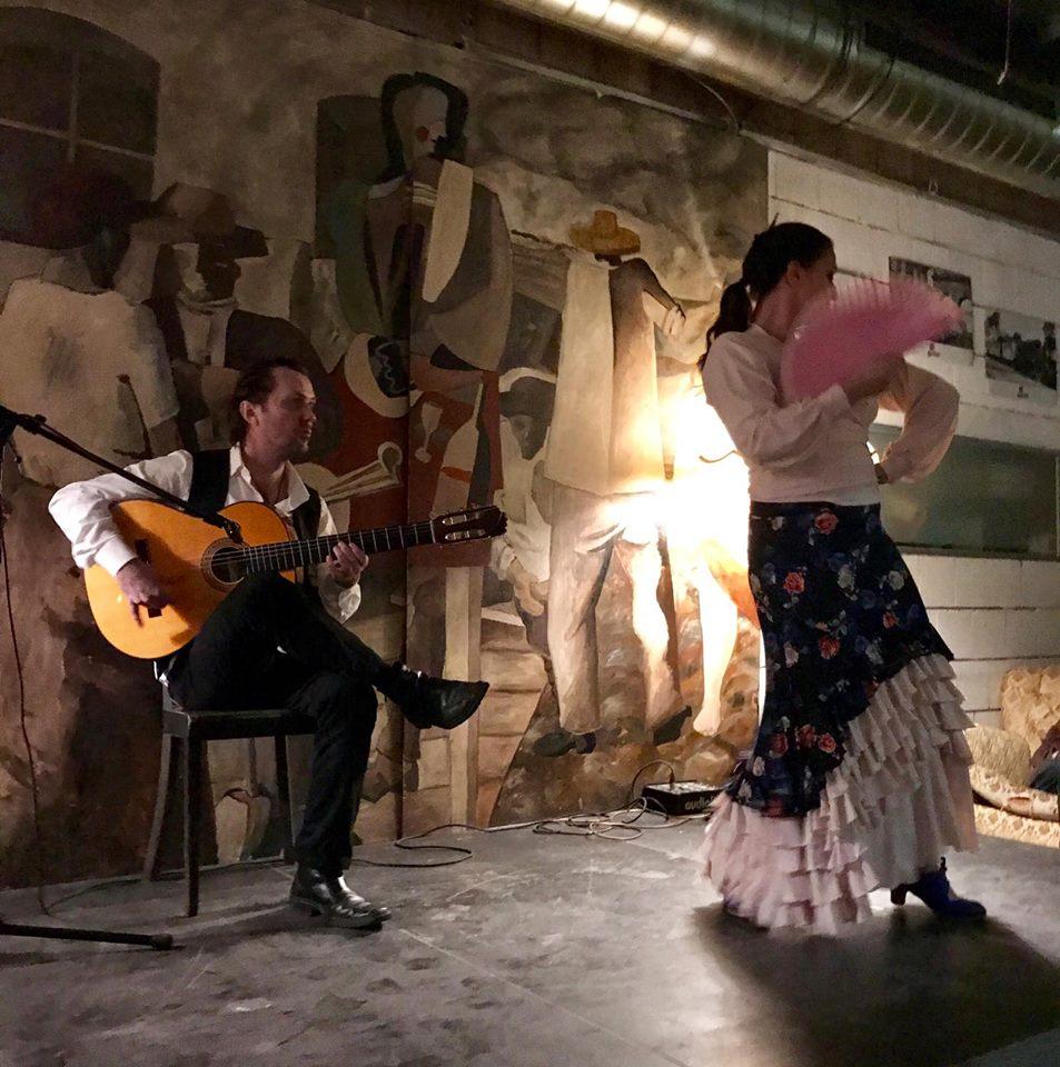 Sandra La Chispa und Flaco de Nerja