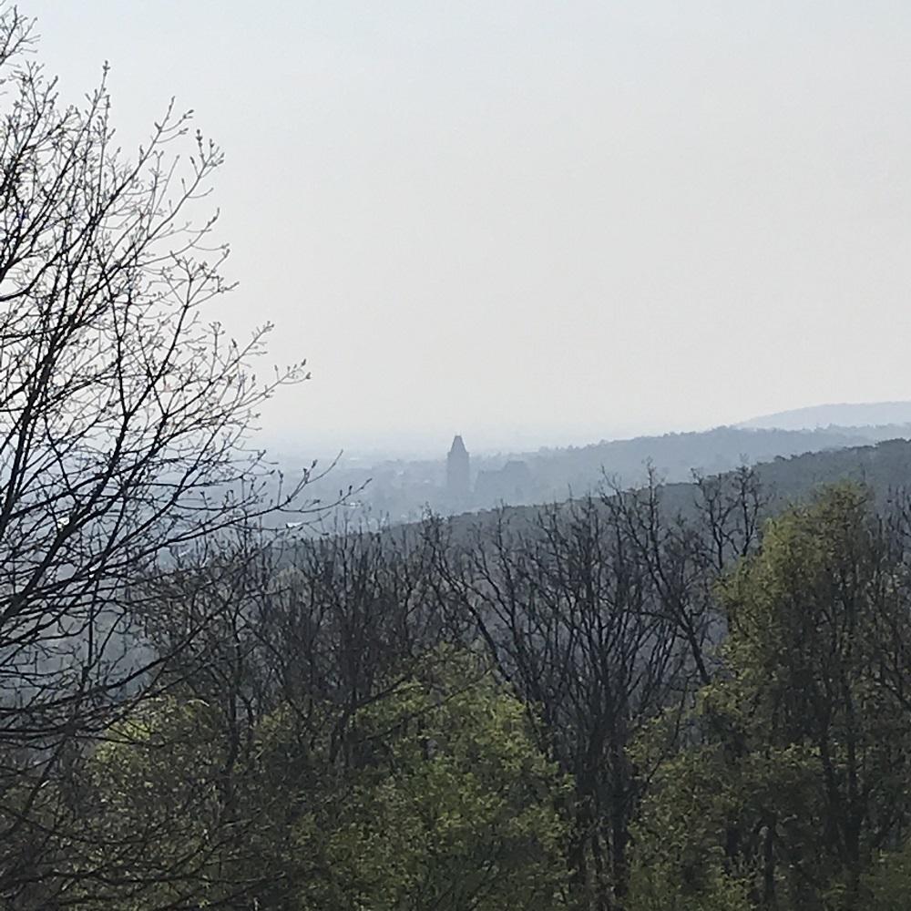 Blick von der Himmelswiese nach Perchtoldsdorf