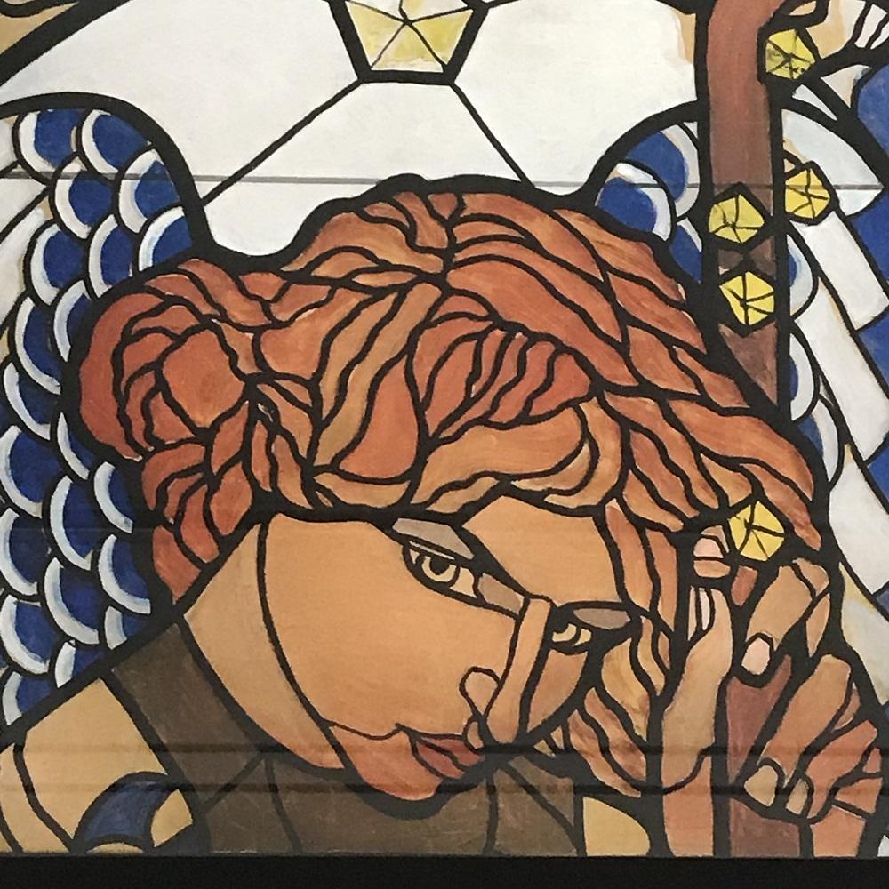 Kirchenfenster Am Steinhof (c) Leopold Museum