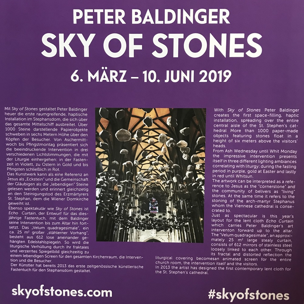 Peter Baldingers Sky of Stones