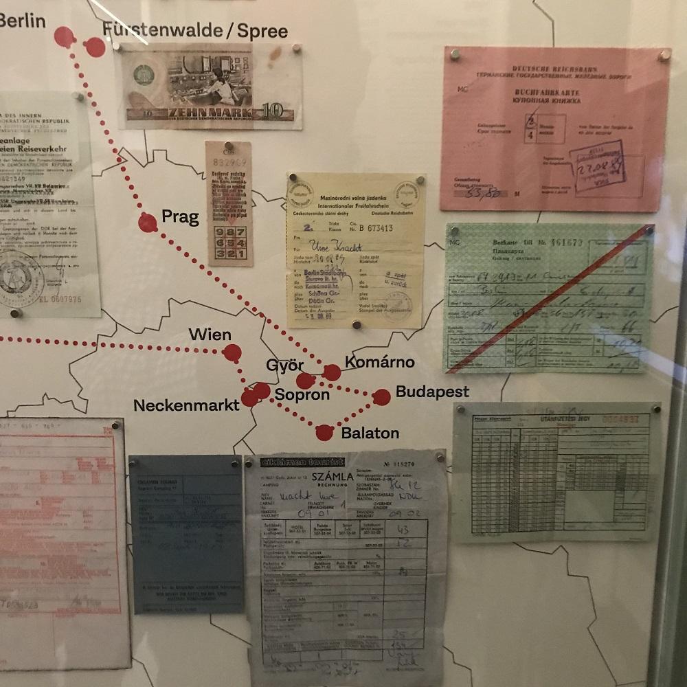 Fluchtroute aus der DDR