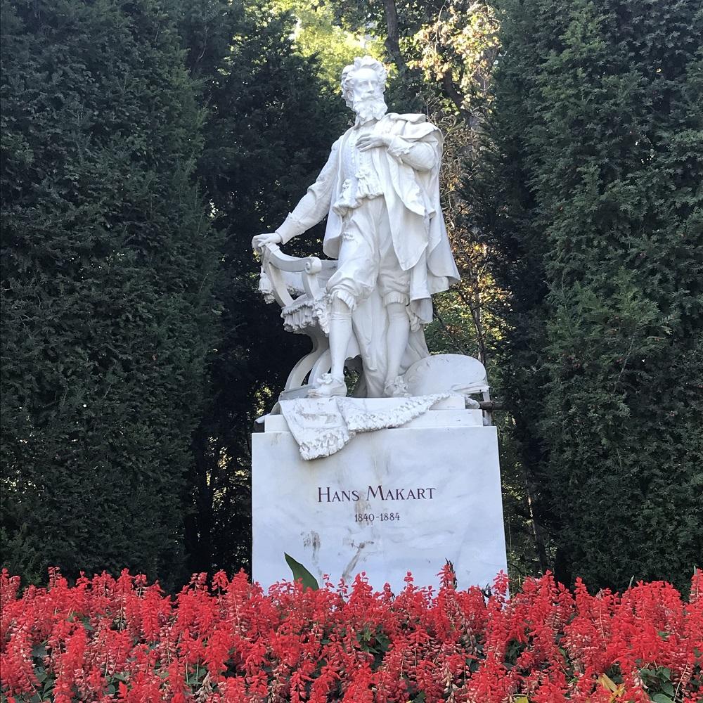 Makart-Denkmal im Stadtpark